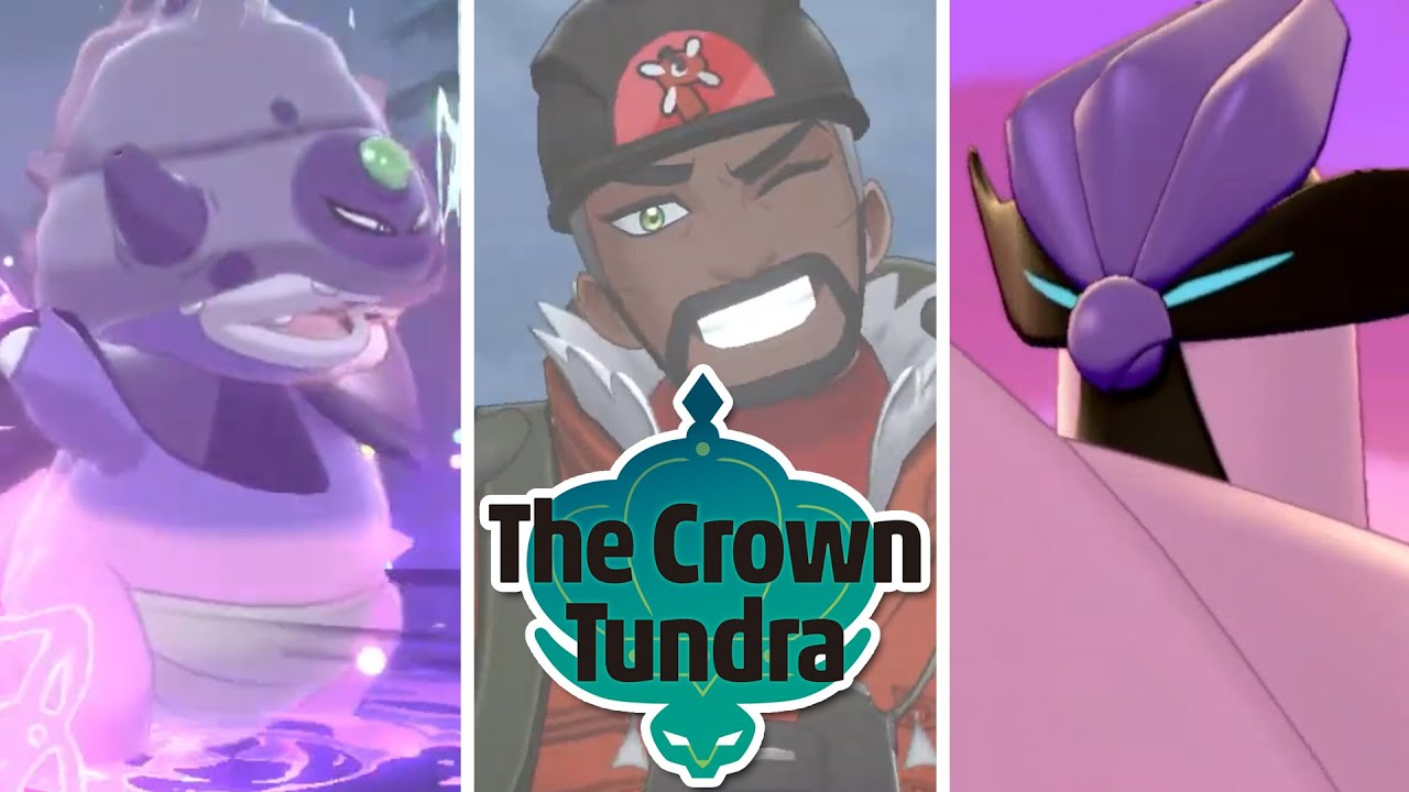 Pokemon Sword Shield The Crown Tundra Dlc Launch Date Revealed
