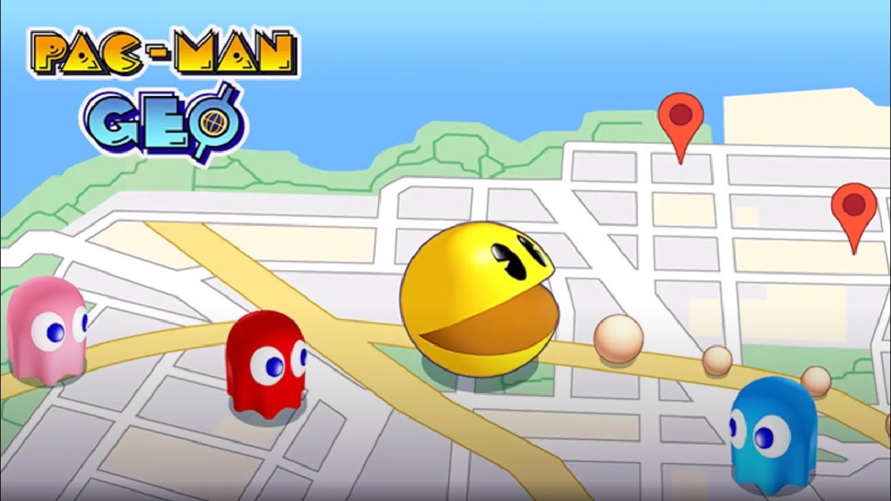 Pac-Man Geo Announced for Both Android and iOS Devices